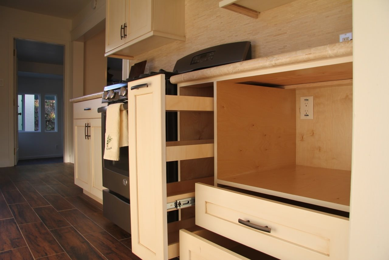 pullout cabinet